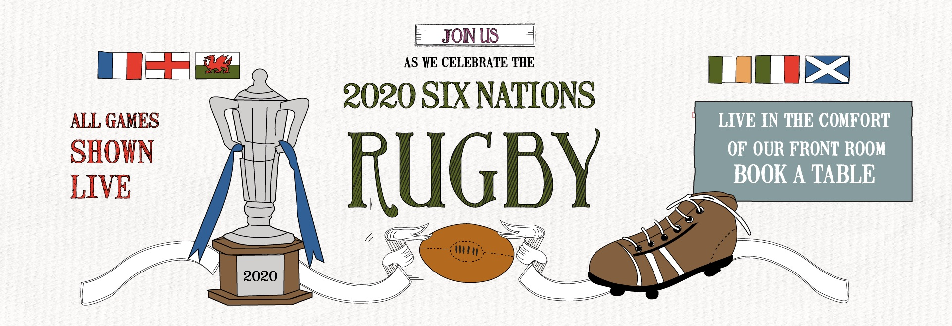 Six Nations at Crown & Greyhound