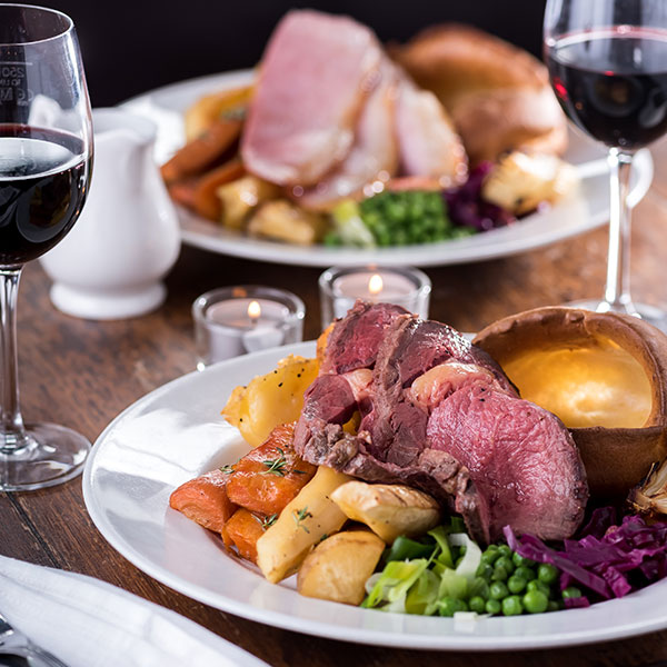 Quality Sunday food at Crown & Greyhound