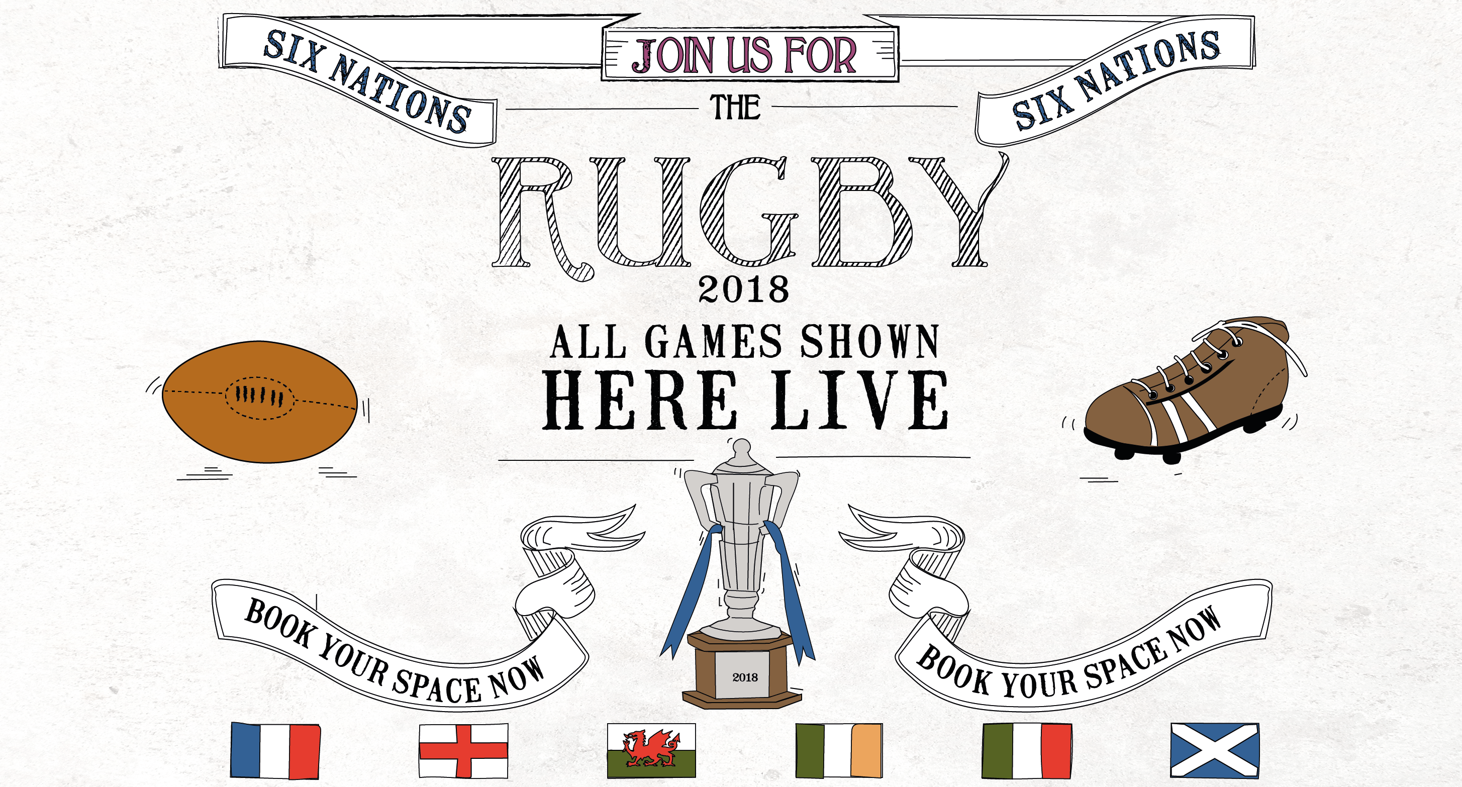 Six Nations Rugby - Book Now