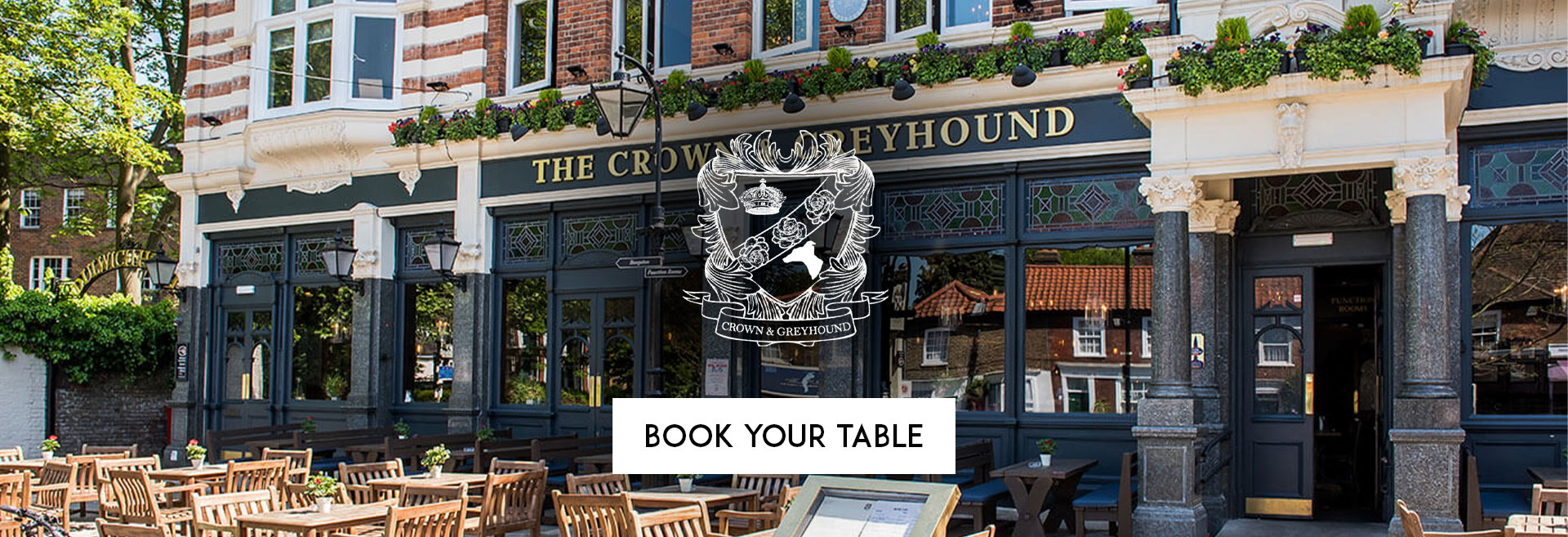 Book Your Table Crown & Greyhound